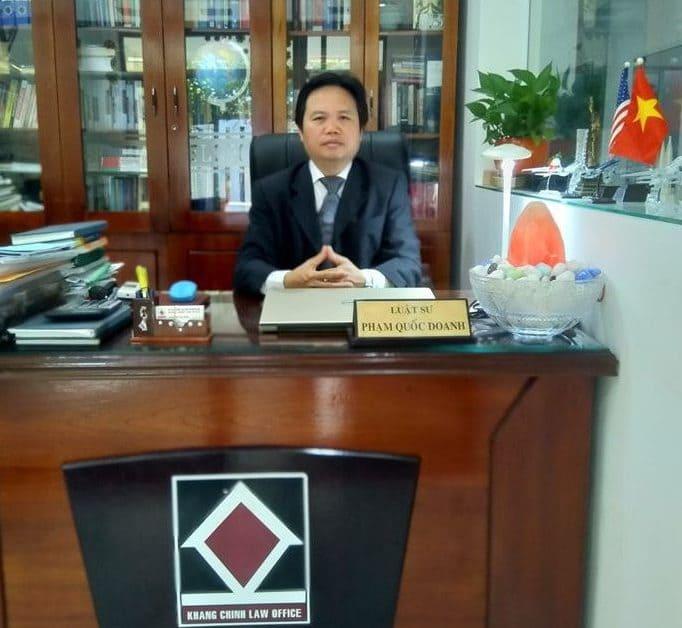 luat su pham quoc doanh - khang chinh law